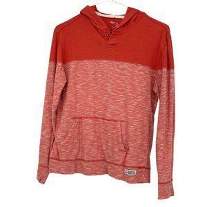 Gap orange heathered hoodie - teen size
